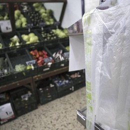 I sacchetti di plastica caso politico Ma in Europa? Si pagano solo in Italia