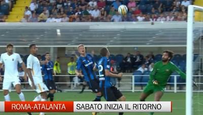 Roma-Atalanta, sabato via al girone di ritorno