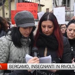 Scuola - Anche a Bergamo insegnanti in rivolta