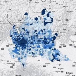 Banda larga, scommessa da 30 milioni La mappa della velocità in Bergamasca