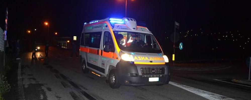 Incidente nella notte a Martinengo Feriti due ragazzi di 20 e 21 anni