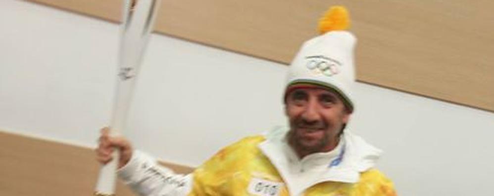 Giorgio, da Branzi alle Olimpiadi  di Seul  L'alpinista dal cuore grande è tedoforo