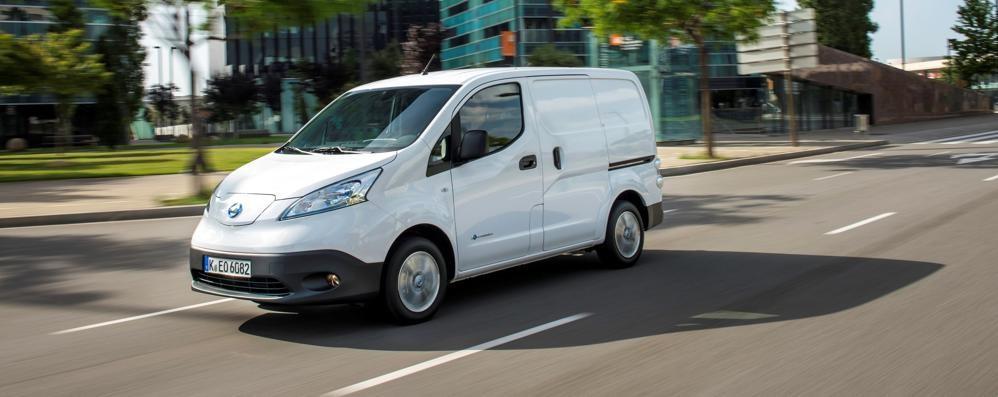 Nissan e-NV200 elettrico aumenta l'autonomia