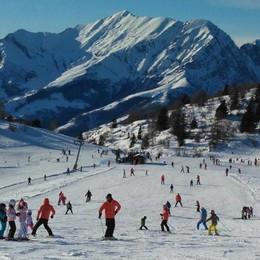 Tanta neve in Bergamasca, vola il turismo Valtorta batte tutti i record di presenze