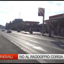 Raddoppio via Autostrada, la protesta dei residenti di Via Carnovali