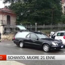 Schianto a Sarnico, muore 21 enne