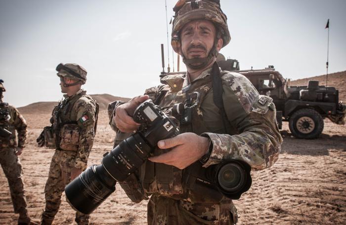 Beppe Firmani Combat Camera