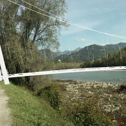Un ponte ciclopedonale sul Brembo L'idea piace a Paladina e Almenno