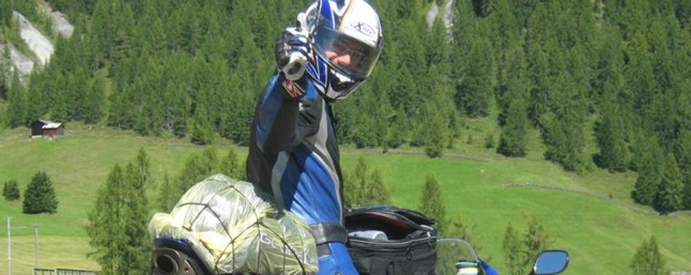 Schianto  contro la torre del Galgario Addio a «Tex», chef e biker