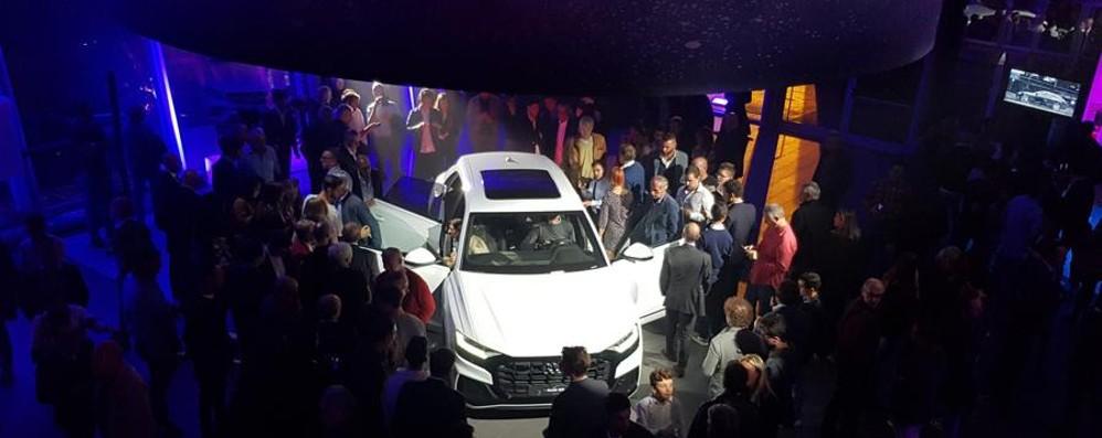 Allo showroom Bonaldi tutto esaurito per l'Audi Q8