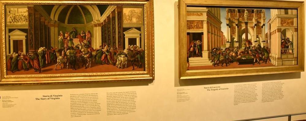 Bergamo celebra il Botticelli Mostra in Carrara, due pagine su «L'Eco»