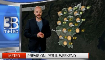 Meteo - Weekend all'insegna del bel tempo