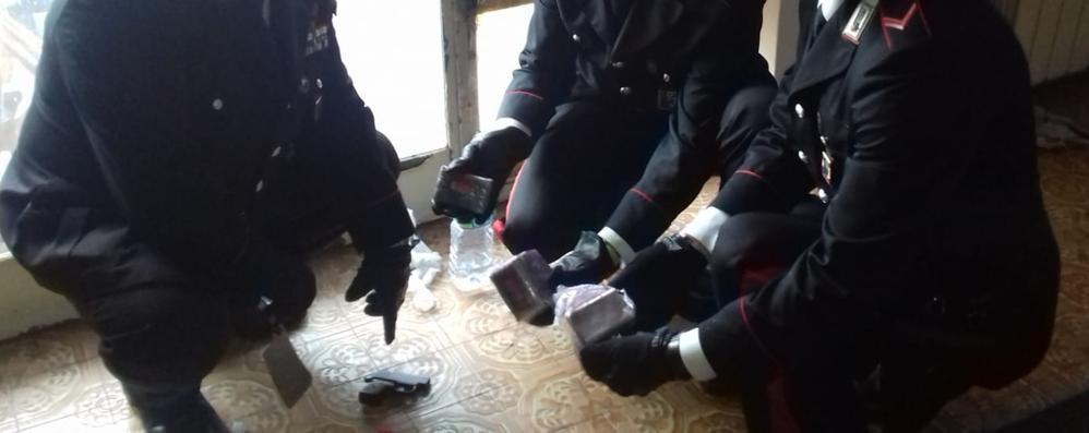 Operazione antidroga a Zingonia Sequestrato un chilo di hashish