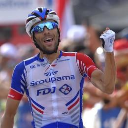 Giro di Lombardia, vince il francese Pinot Stacca di 30 secondi Vincenzo Nibali