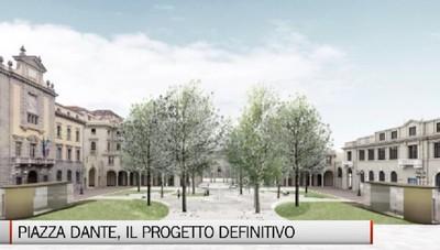 Piazza Dante, il progetto definitivo