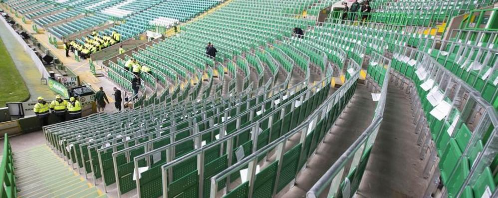Stadio, posti in piedi nelle due curve Iter terminato, a maggio via ai lavori