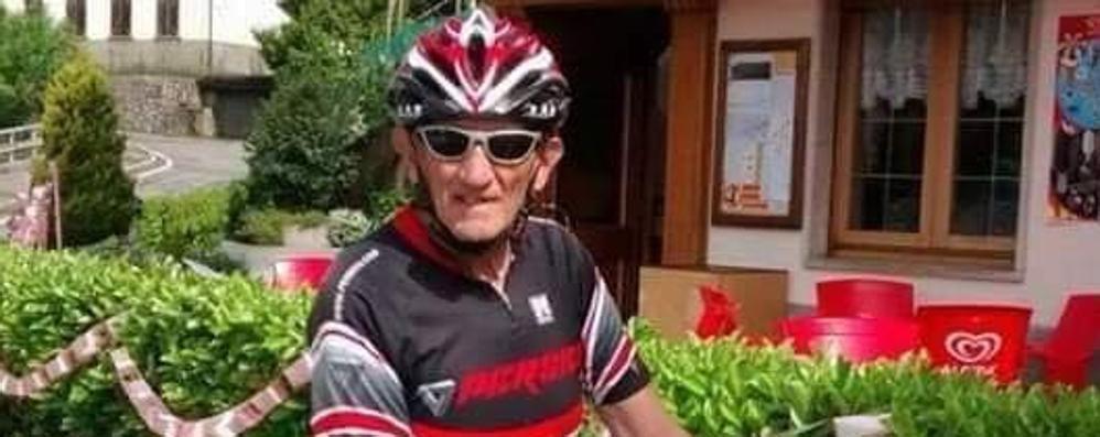 Volontario e ciclista, lutto ad Albino Fatale la caduta in bici per Fiorenzo