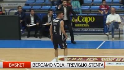 Basket, Bergamo vola e Treviglio stenta