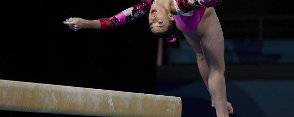 Giorgia Villa, tris d'oro per la ginnasta Il pubblico argentino già l'adora - Video