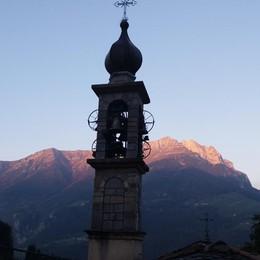 L'alba sul monte Secco