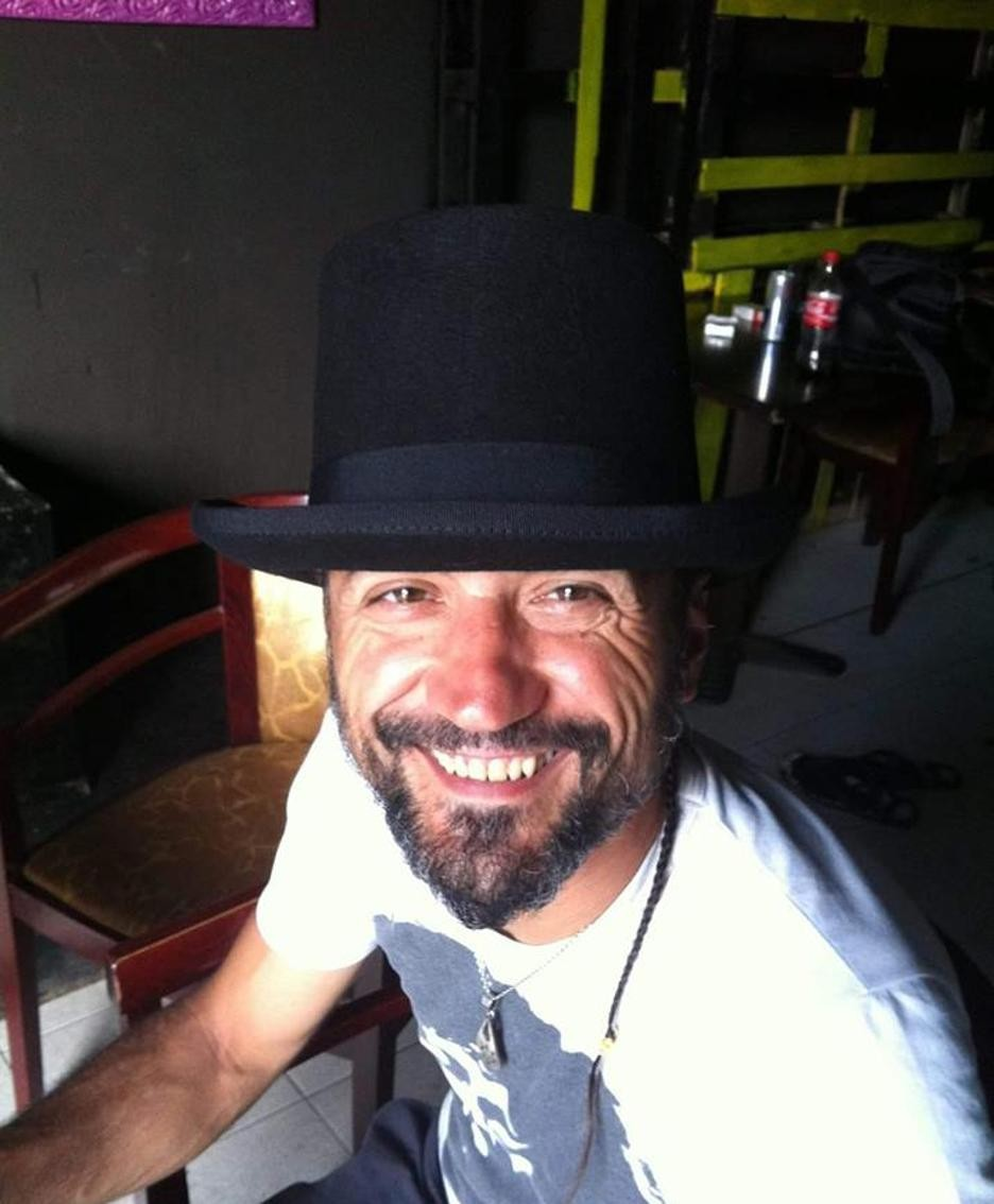 Fulvio Piavani, in una foto di Fb