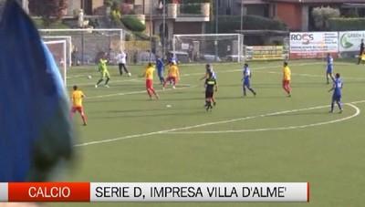 Serie D, il Villa d'Almè Valbrembana blocca la capolista Como