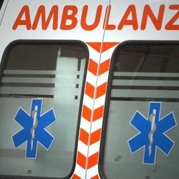 Auto contro moto a Villongo Grave in ospedale un 19enne