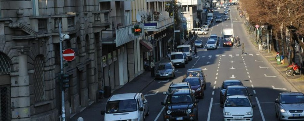 Bergamo, arriva una pista ciclabile E via Angelo Mai perde una corsia