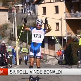 Dossena, Sergio Bonaldi vince il trofeo di skiroll