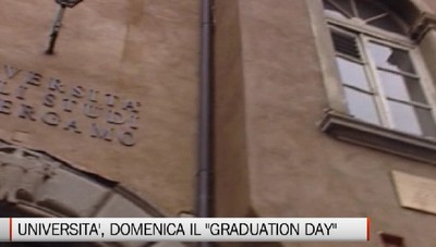 Università - Domenica il Graduation day
