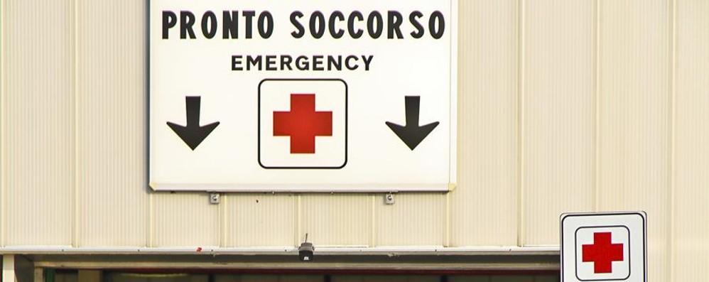 Grumello, cade dalla moto Corsa in ospedale, grave 28enne