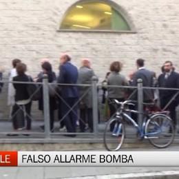 Bergamo - Falso allarme bomba in tribunale