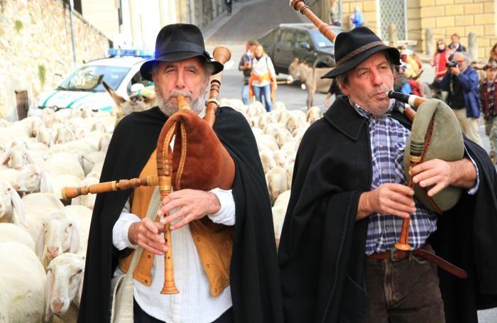 Festival del Pastoralismo suonatori di baghet