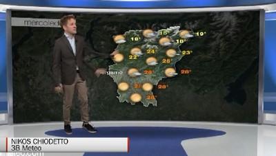 Meteo, le previsioni per mercoledì 24 ottobre