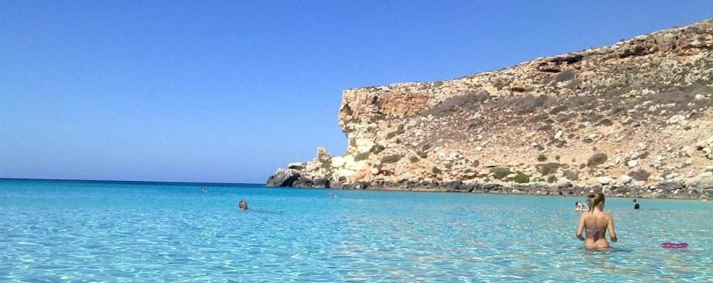 Bergamasco in vacanza a Lampedusa Arrestato per bancarotta fraudolenta