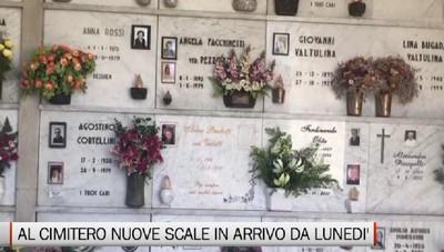 Cimitero: 60 nuove scale in arrivo da lunedì prossimo