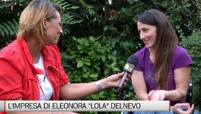 Eleonora, la donna che scala con la sola forza delle braccia