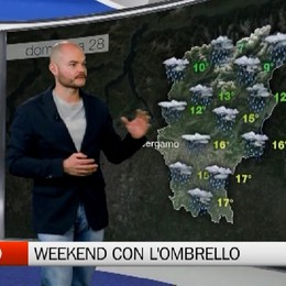 Meteo - Weekend sotto l'ombrello