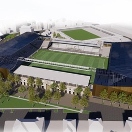 Acciaio nerazzurro per lo stadio rifatto «Torna ad essere un edificio civico»