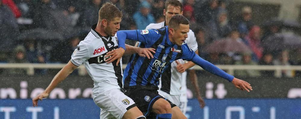 Atalanta-Parma 3-0 - La cronaca Autorete, Palomino e poi Mancini