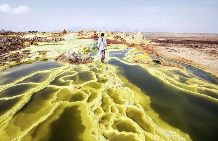 The Danakil Desert Eritrea ©Andrea Frazzetta