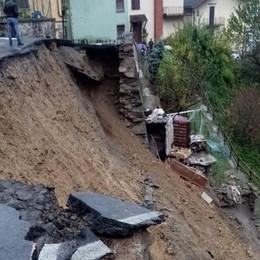 Maltempo, allerta meteo in codice rosso Frana a Vilminore: lunedì scuole chiuse