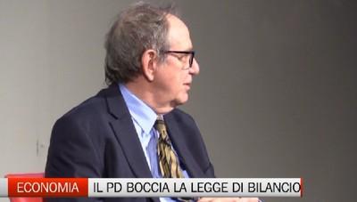 Padoan a Bergamo boccia la nuova manovra del governo