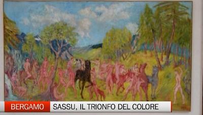 Bergamo - A Palazzo Creberg il trionfo del colore di Sassu