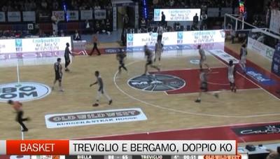 Basket, sconfitte Treviglio e Bergamo