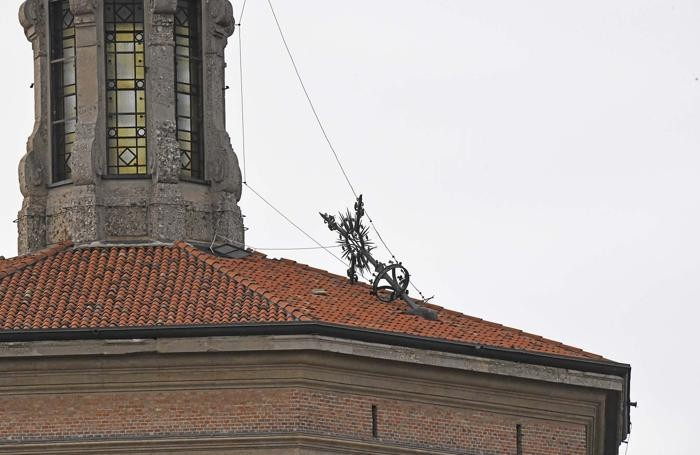 Il tetto del Santuario di Treviglio