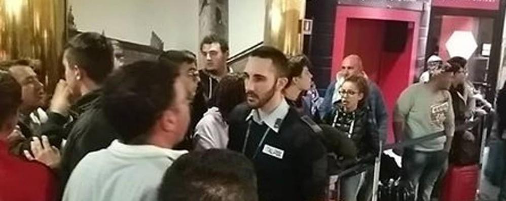Orio, cancellati voli per Catania e Lamezia Notte difficile per 365 passeggeri
