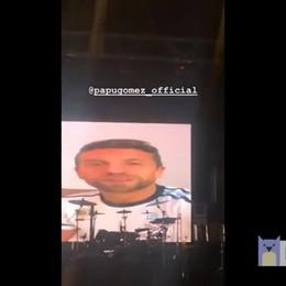 Maradona e gli auguri del Papu  Il video postato dal «Pibe de Oro»