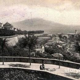 A passeggio sulle Mura Un secolo fa belle come oggi
