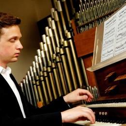 Il Festival organistico fa il pieno Stasera giovane talento neozelandese